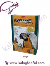 خوراک طوطی سانان 600گرمی Pappagalli